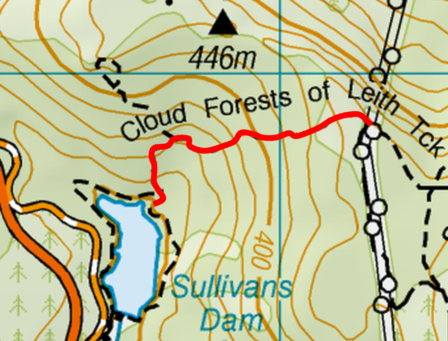 Cloud Forest of Leith Map